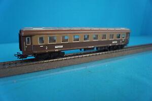 Marklin-4036-FS-Express-Coach-2-Kl-Brown-Tin-Plate