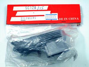 Sc Parts Auspuff Endtopf Muffler SC12A/15 Für Motoren 2.1-2.5cc 9910015 Modell