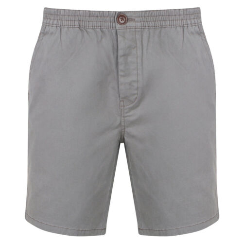Tokyo Laundry Uomo Chino Short Cotone Shorts Spiaggia Estate chinoshort NUOVO