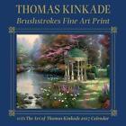 Thomas Kinkade Brushstrokes Fine Art Print With 2017 Wall Calendar 9781449478674