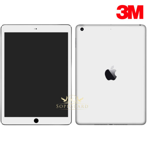 SopiGuard 3M Carbon Fiber Brushed Full Body Skin for Apple iPad 9.7 5th 6th 2018