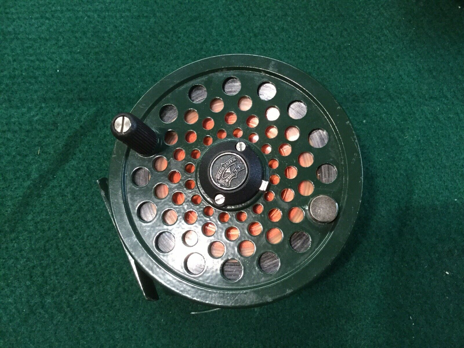 Vintage LL Bean Maine guida FLY REEL  8910