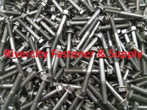 5//16-18x2-1//2 Grade 8 Hex Head Flange Cap Screws 5//16x2-1//2 50 Frame bolts