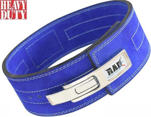 RAD Split Leather Weight Lifting Lever Pro Belt Back Support Gym Training