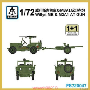 S-model-1-72-PS720047-Willys-MB-amp-M3A1-AT-Gun-1-1