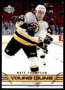2006-07-Upper-Deck-Nate-Thompson-Rookie-455