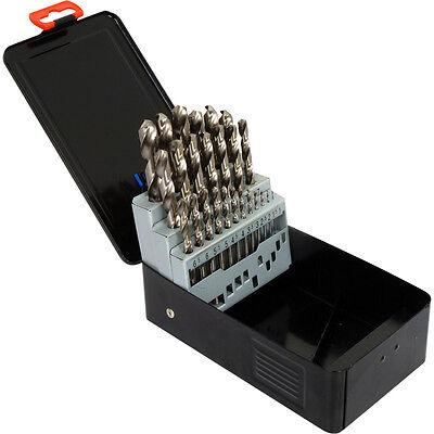 DIY NEW Cobalt Pro Drill Bit Set 25 Piece 1-13mm in 0.5 increments