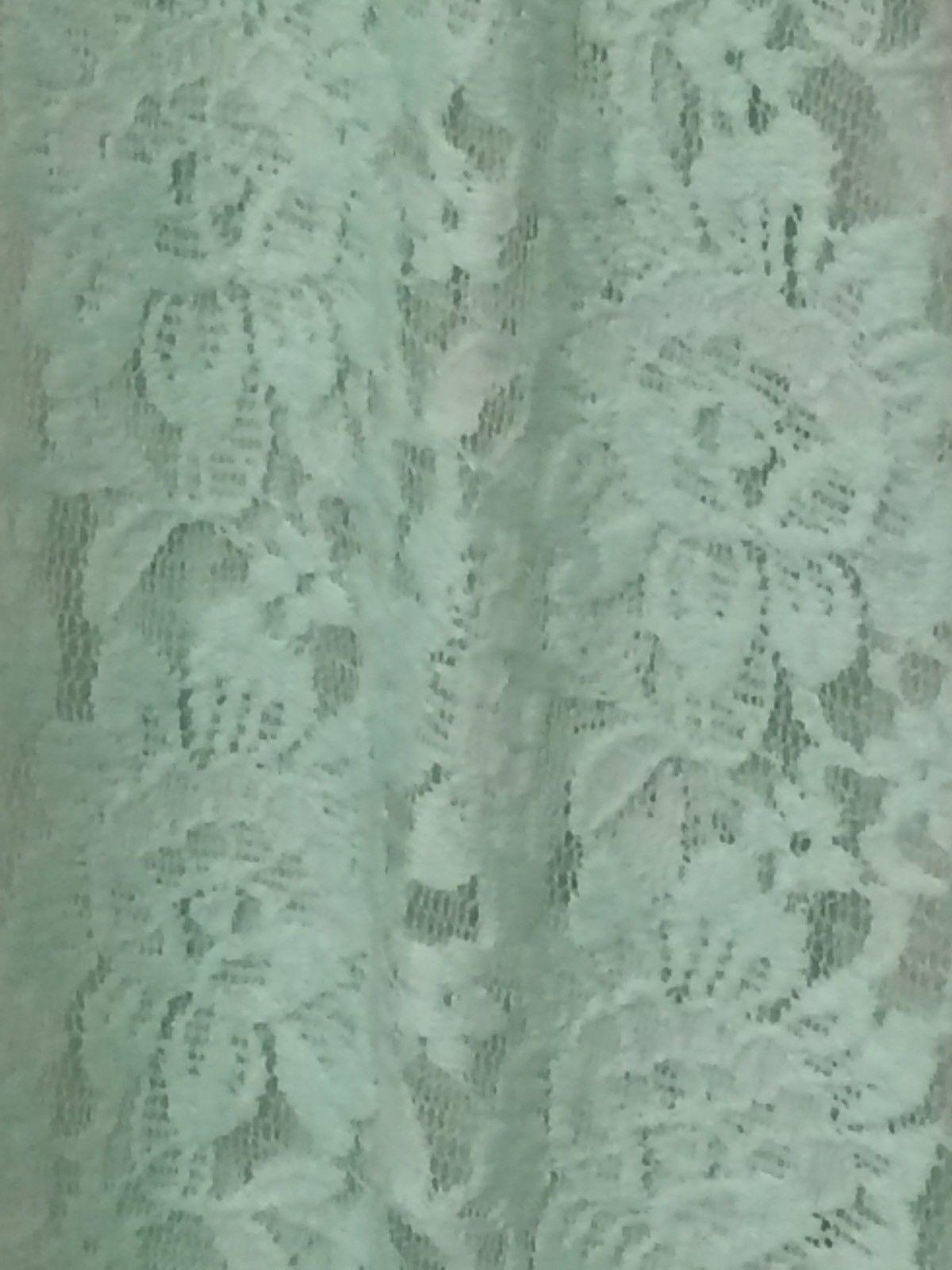 X-SMALL LuLaRoe JOY LACE VEST SOFT PALE MINT GREEN cardigan layering NWT XS