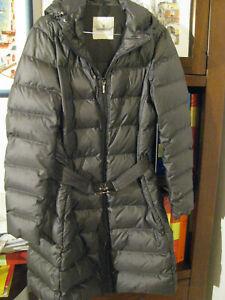 buy online dad21 22544 Dettagli su MONCLER Piumino Lungo Con Cappuccio Donna Taglia M