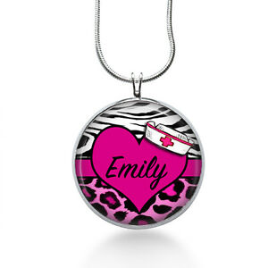 Personalized-NURSE-necklace-rn-necklace-nurse-gift-Medical-Necklace-Nursing