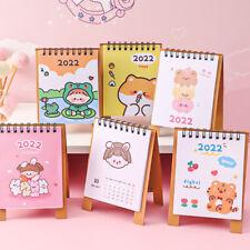 New Cartoon Little Desk Calendar 2021 2022 Schedule Plan Perpetual Calendar