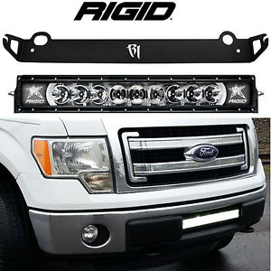 Rigid Light Bar >> Details About Rigid Radiance 20 Led Light Bar Bumper Mount White Back Light For Ford F150