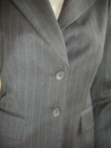 Grigio Blazer Republic Stupenda Lana Giacca 2 Banana 99 Stripes Taglia qZOxRp