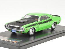 PremiumX Dodge Challenger t/a 1970 grün/schwarz 1:43 PRD407J