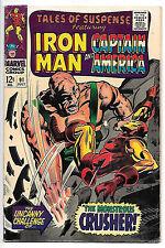 Tales of Suspense #91 (Marvel 1967, vf- 7.5) Colan & Kane art - 40% off guide