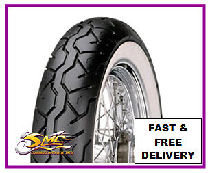 170//80-15 77H Maxxis M6011R WHITEWALL Custom Cruiser Rear Tyre