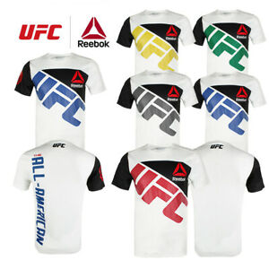 Reebok-Men-039-s-UFC-Official-Fighter-Jersey-Shirt
