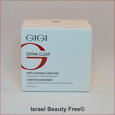 Gigi Derma Clear Deep Cleansing Liquid 50 Pads For Oily And Problematic Skin