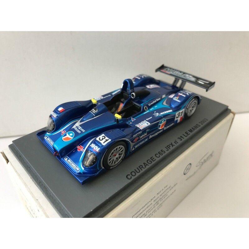RARE SPARK SCCG20 COURAGE C65 JPX n°31 Le Mans 2003  1.43 NB