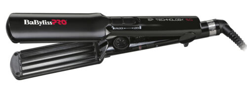 BABYLISS PRO crespi bruni FERRO gaufrierzange PIASTRE 38mm ep5.0 tecnologia Bab 2658 epce
