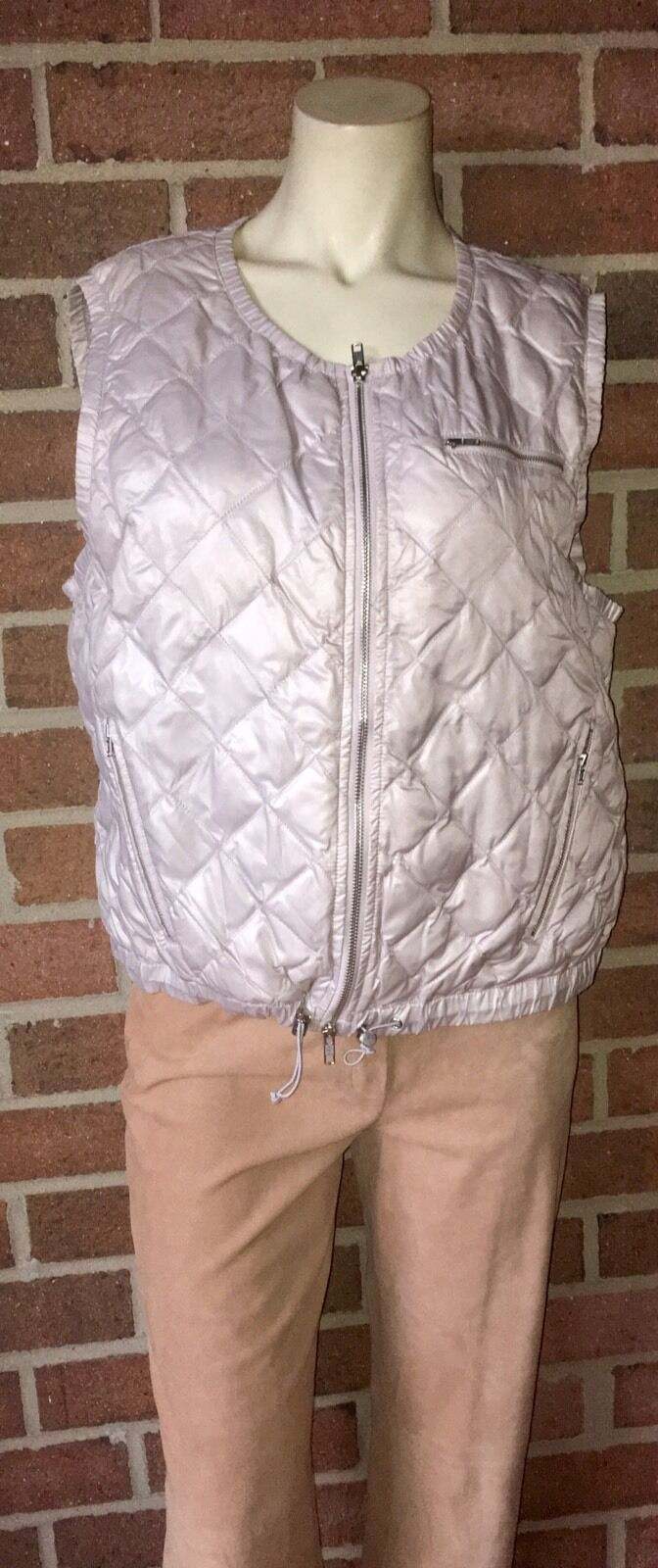 J. Crew 32864 Luminous Puffer Vest Quilted Quilted Quilted Down Waterfowl Feathers  98 XL b1e1df