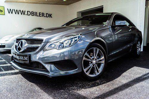 Mercedes E200 2,0 Coupé aut. 2d - 639.000 kr.