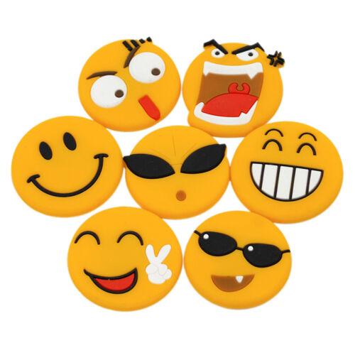 Emoji Cartoon Expression Fridge Magnet Decor Whiteboard Note Message Holder new~