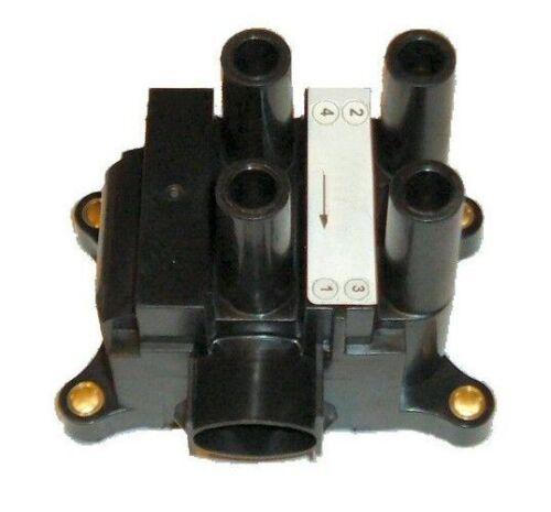 2.0 Paquete de bobina de encendido y contacto ht plomo Set 00-05 Ford Mondeo Mk3 1.8