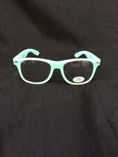 Branded Glow in The Dark Party Club Neon Green Glasses Clear Sunglasses