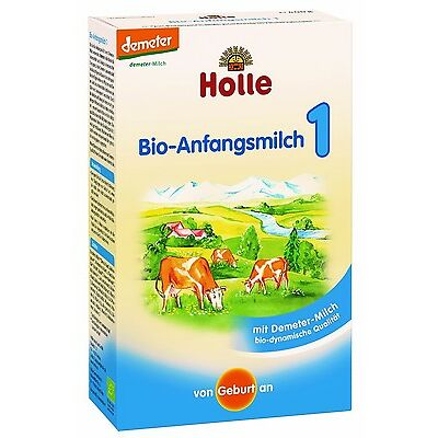 Holle Organic Baby Infant Newborn Formula Stage 1 (4 BOXES)