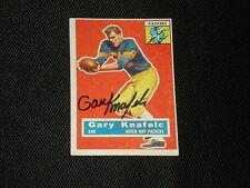 1956 Topps Gary Knafelc #43 Football Card