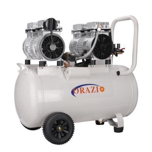 241185 Silencieux Type Compresseur D'Air 65DB 220V 1100W 50L Pour Garage Atelier