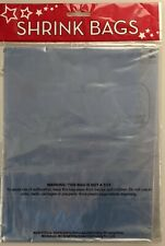 Two 2 Pack Large Shrink Wrap Basket Bags For Gift Baskets Clear 24 X 30