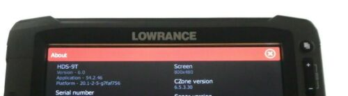 Details about  /Lowrance HDS 9 Touch Insight GEN 2 GPS Fishfinder