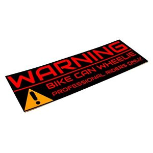 2x-Bike-Sticker-Warning-Aufkleber-Motocross-15cm-Supermoto-Powerparts-KTM-smc