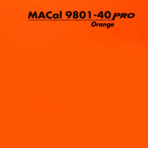PKW KFZ Folie orange glänzend 61,5 cm 7,32 € //m 3 m Autofolie