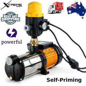 Details about 3 5HP High Pressure Water Pump 5 Stage Tank Garden Home  Irrigation Commercial