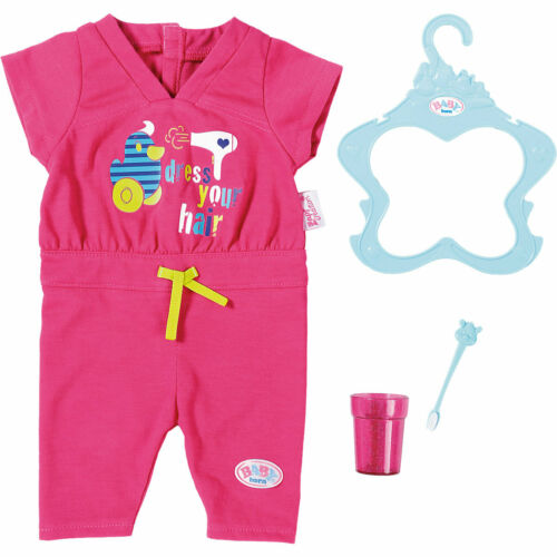 Zapf 823590 BABY born© Badeset Jumpsuit Puppenkleidung Spielzeug