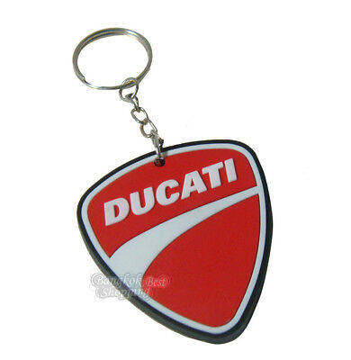 NEW DUCATI MOTOGP CBR MOTORBIKE Keychain Keyring Rubber Motorcycles Motor Logo#1