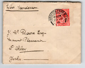 Great-Britain-1916-Brocton-Camp-Army-PO-Cover-Z13364
