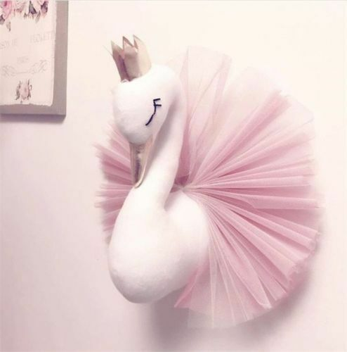 New Swan Wall Hanging Nursery Decor For Kids Room christmas gift nice for kids