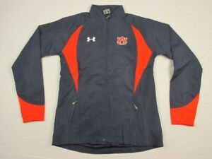 NEW-Under-Armour-Auburn-Tigers-Navy-Orange-Poly-Jacket-Multiple-Sizes