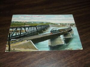 1907-LEHIGH-VALLEY-RAILROAD-NEW-BRIDGE-AT-TOWANDA-PA-POSTCARD