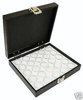 1-25 Gem Jar Solid Lid White Insert Jewelry Display