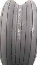 2 - 16X6.50-8 4 Ply Kenda K401H Rib Lawn Mower Tires PAIR HAY TEDDER H-Duty