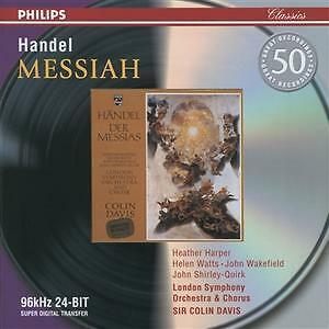 1 of 1 - Handel: Messiah, Colin Davis, London Symphony Cho, Very Good CD