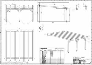 bauplan f r carport gartenhaus pdf my blog. Black Bedroom Furniture Sets. Home Design Ideas