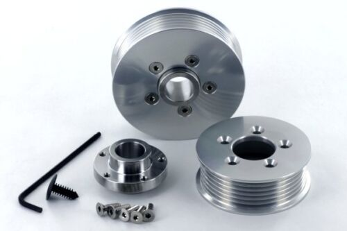 "Eaton M90 GM Series II /& III Qwikchange 3.6/"" Supercharger Pulley kit"
