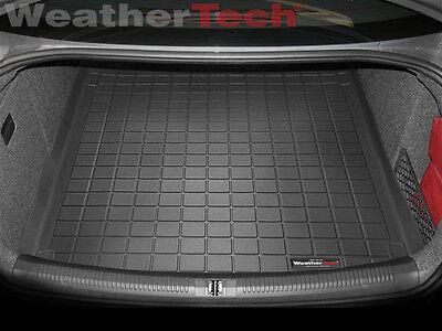 WeatherTech Cargo Liner Trunk Mat for Audi A4/S4/RS4 Sedan- Black