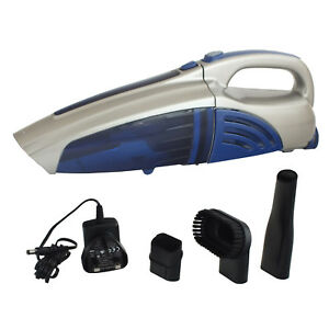 RECHARGEABLE CORDLESS HANDHELD VACUUM WET & DRY CLEANER 7.4V LI-ION 1500MAH